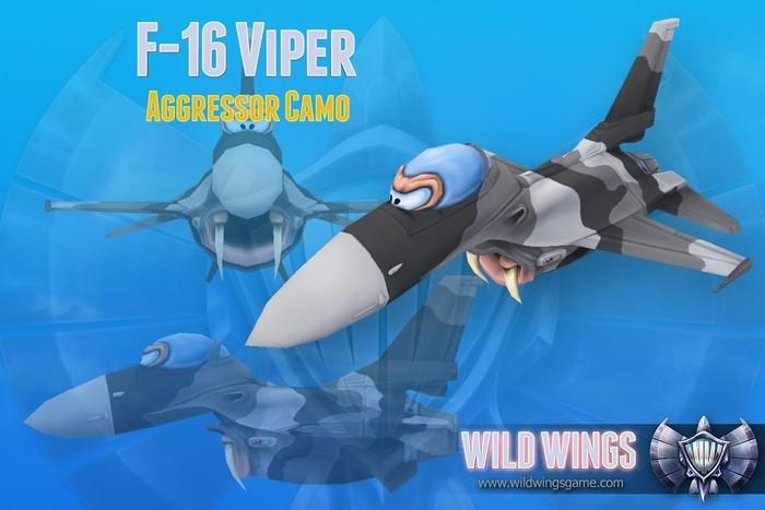 """F-16 Viper """"Aggressor """"edition"""