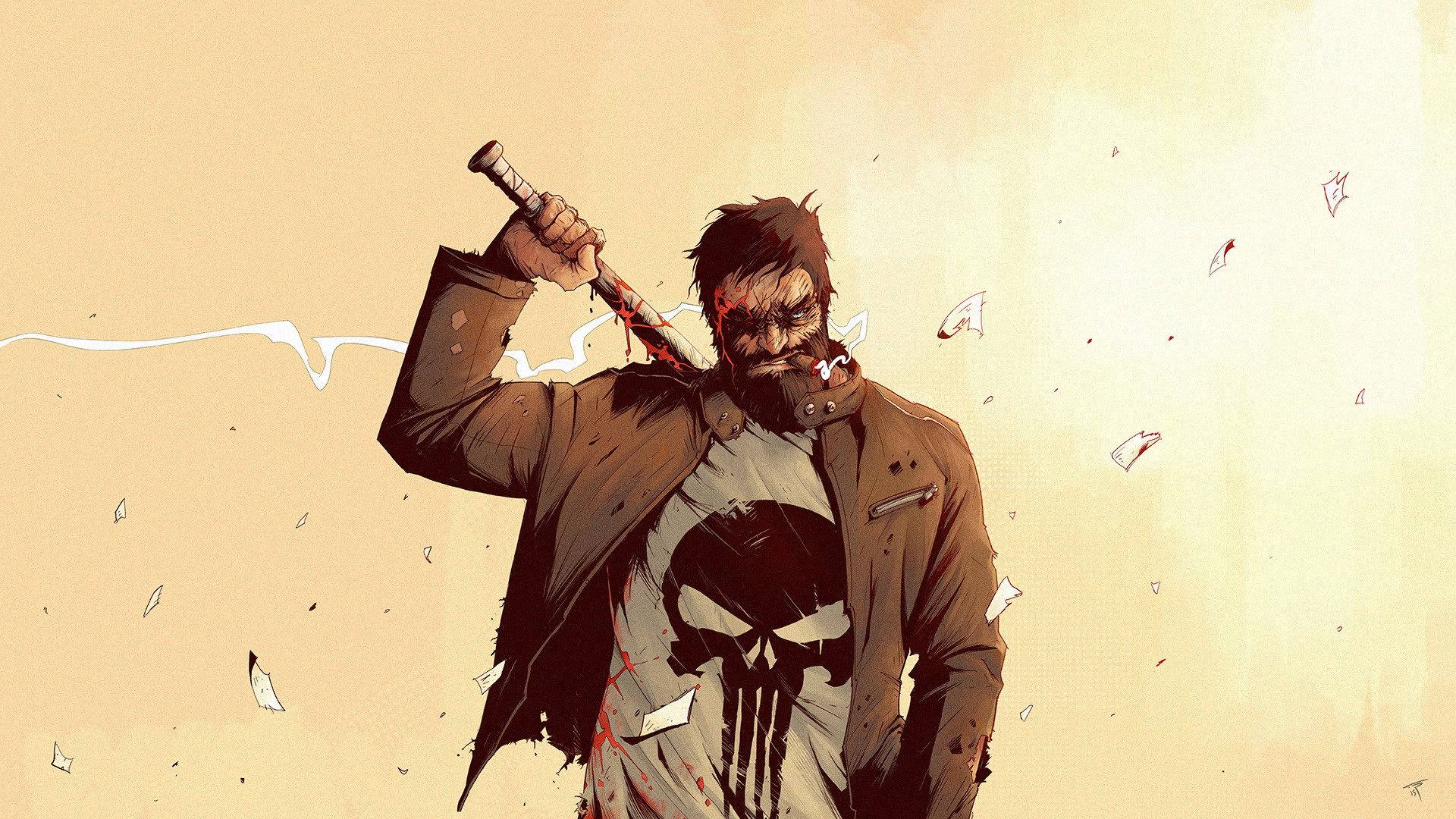 Tonton revolver the punisher ld