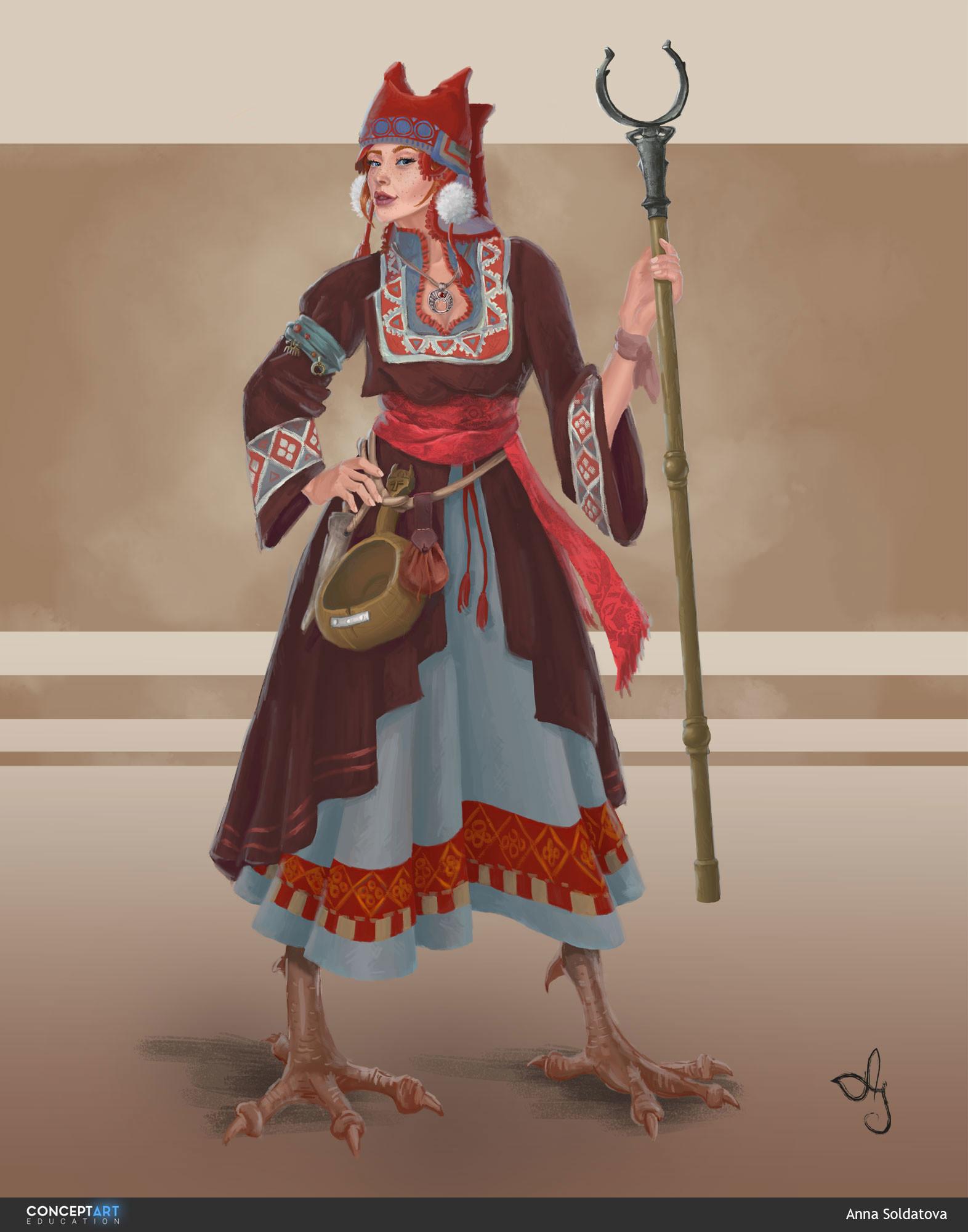 Anna soldatova slavic witch soldatova anna2