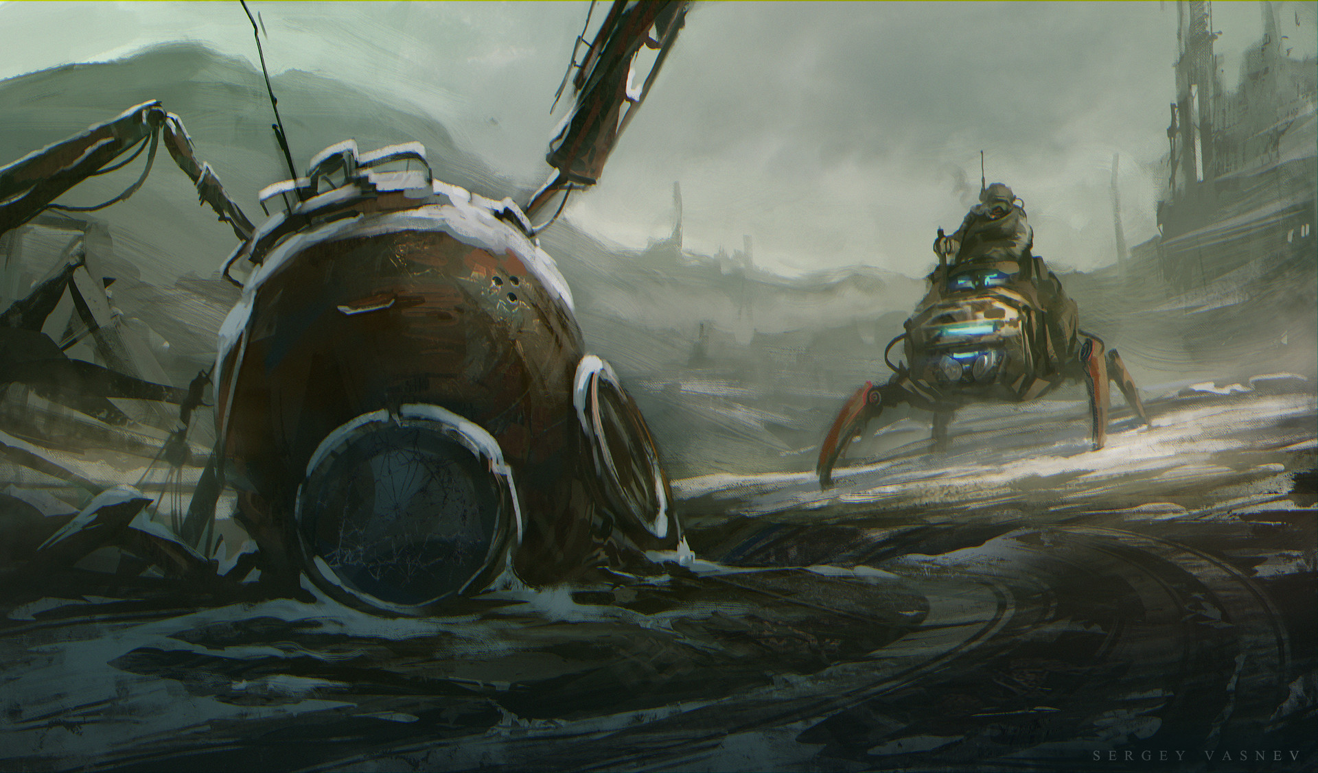 Sergey vasnev dog robot3
