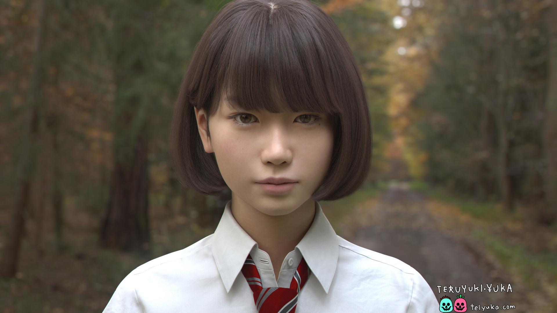 Teruyuki and yuka saya wip render 002