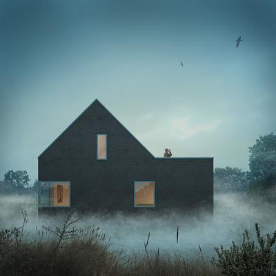 Derek jackson flemish house