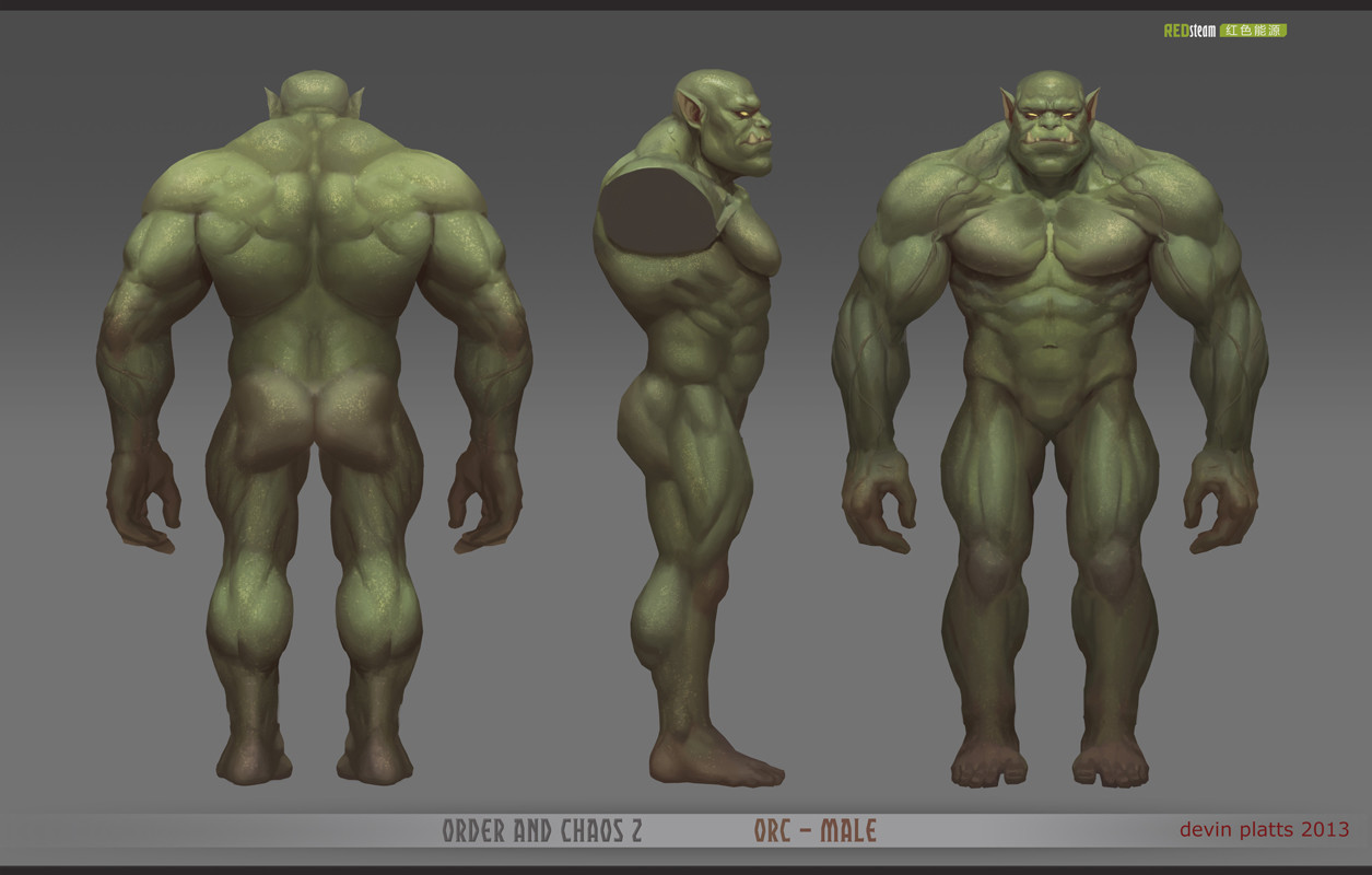 Devin platts redsteam ca chara orc male