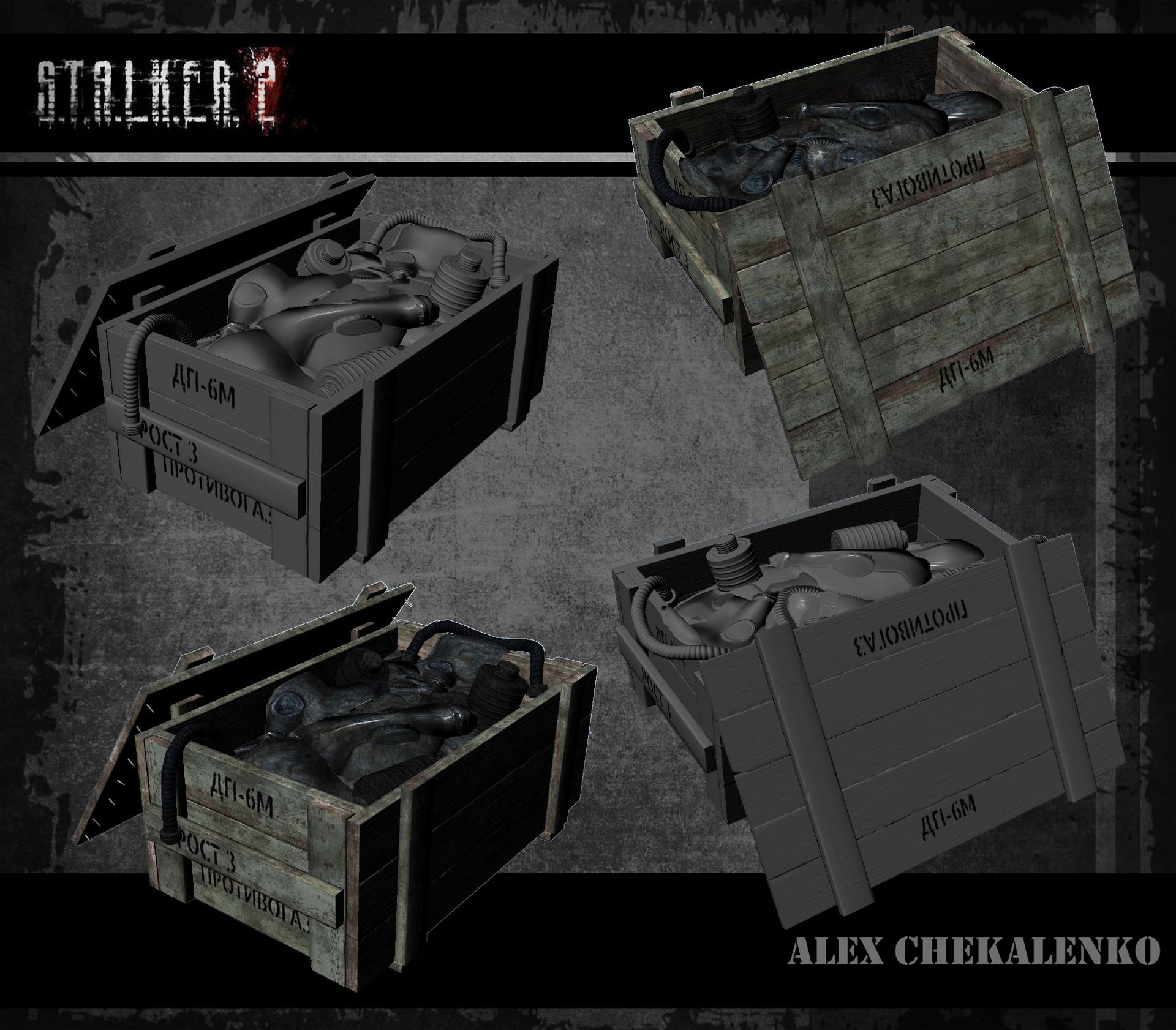 Alex chekalenko gasmask crate