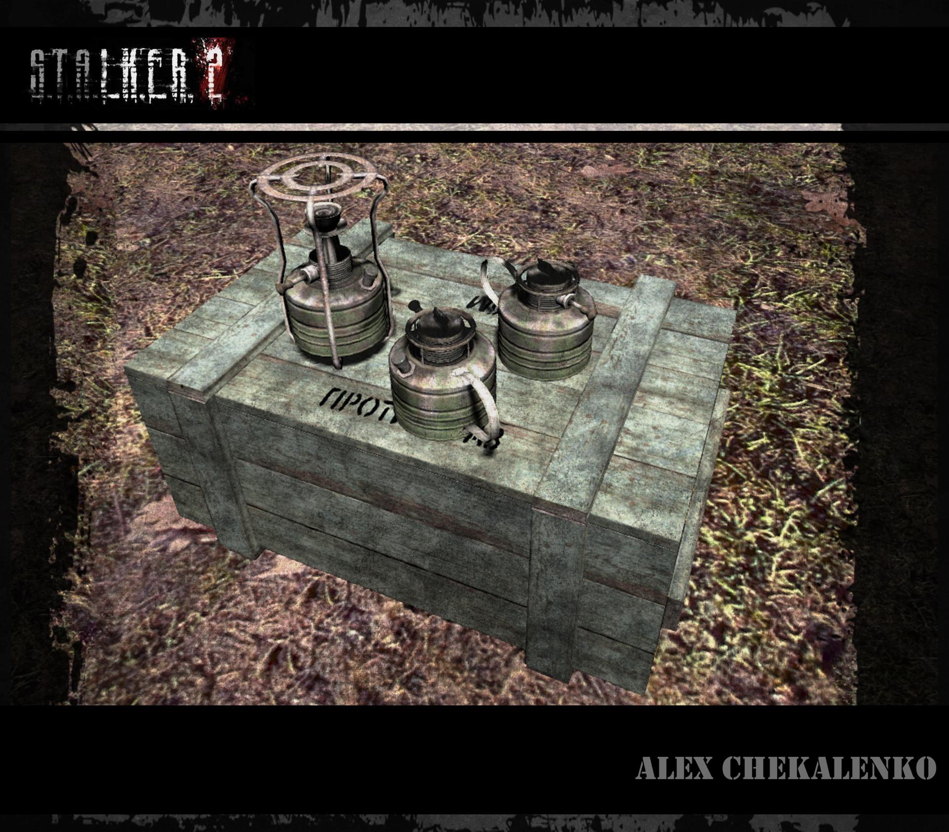 Alex chekalenko oil stove