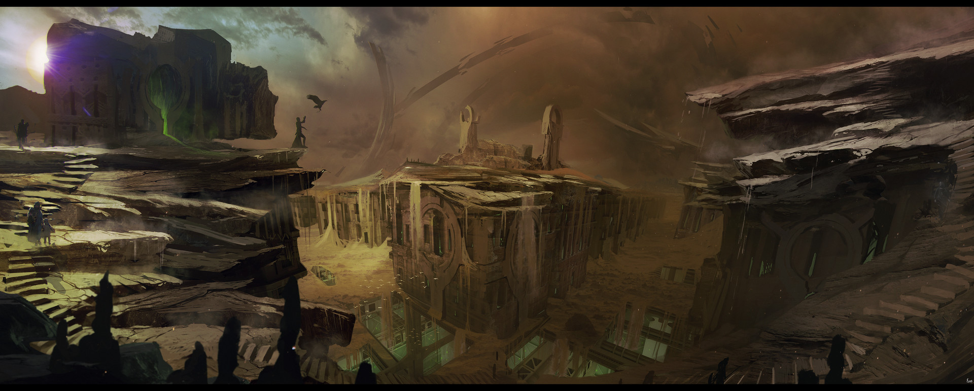 Brad wright the maker sietch tabr surface of arrakis