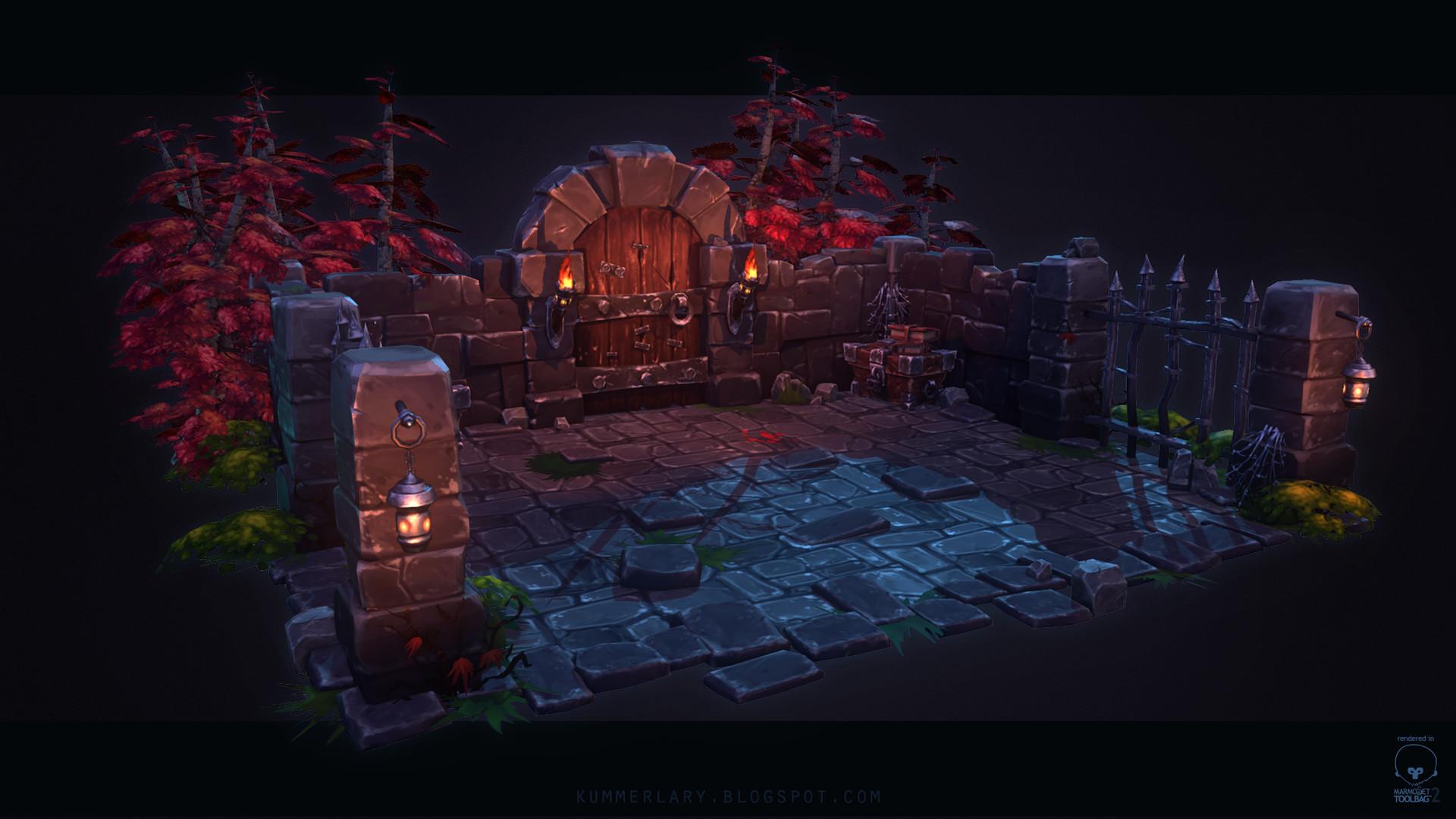 Lary kummer dungeon scene beautyshot
