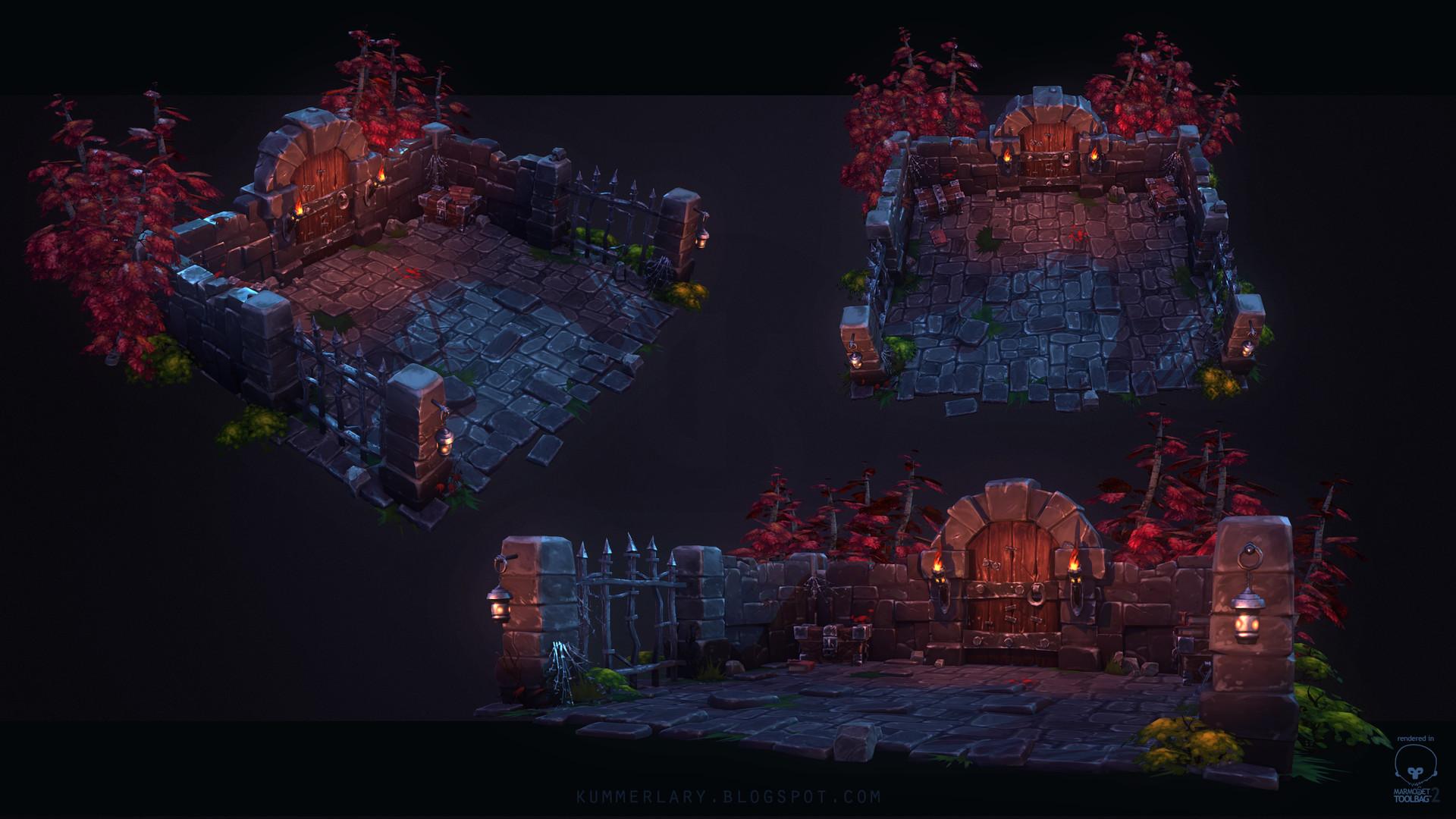 Lary kummer dungeon scene detailsshot 01