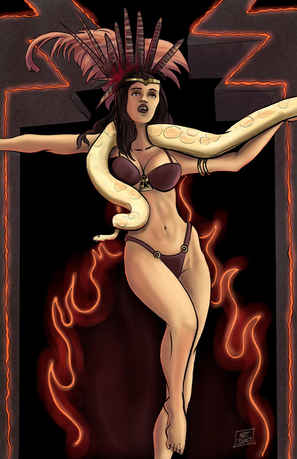 Matt james satanico pandemonium by mattjamescomicarts d9ddd7z