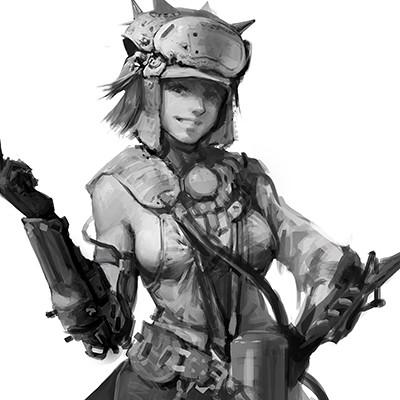 Qi wu fishgirl