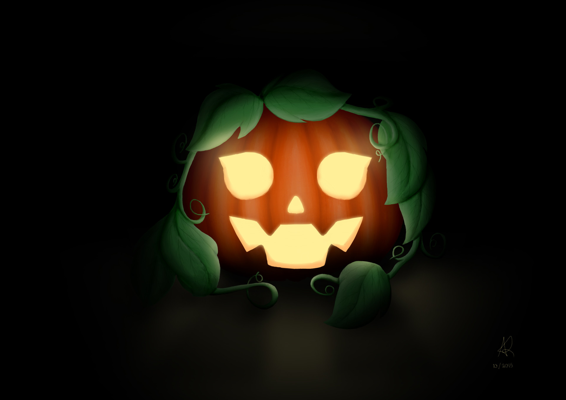 Digi nana pumpkin