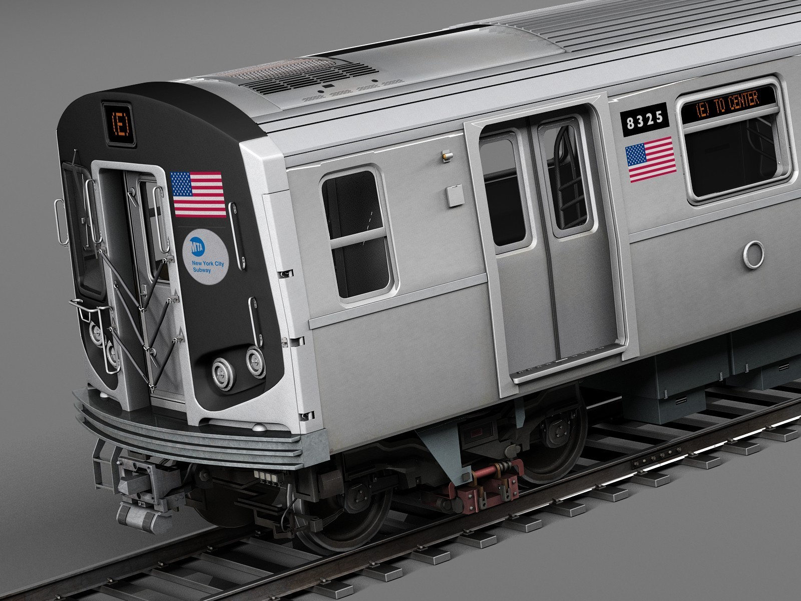 ArtStation - New York Subway Train R160, Valerii Sendetskyi
