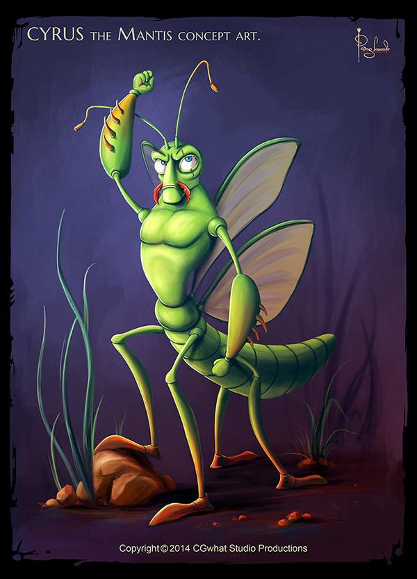 Parag lavande mantis final