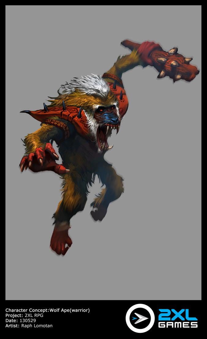 Raph lomotan wolfape 130529