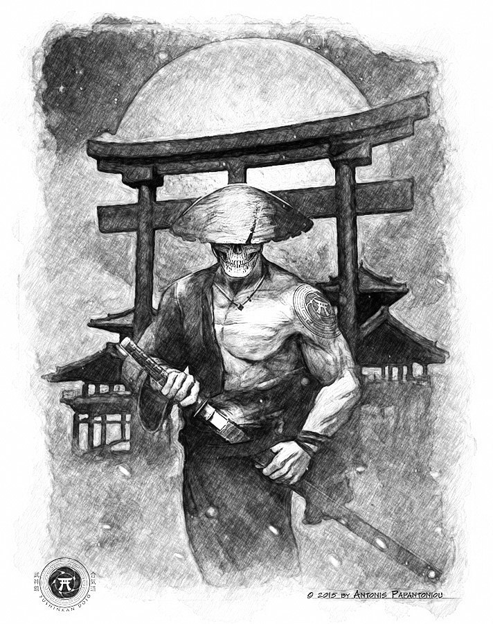 Antonis papantoniou samurai spirit pencil