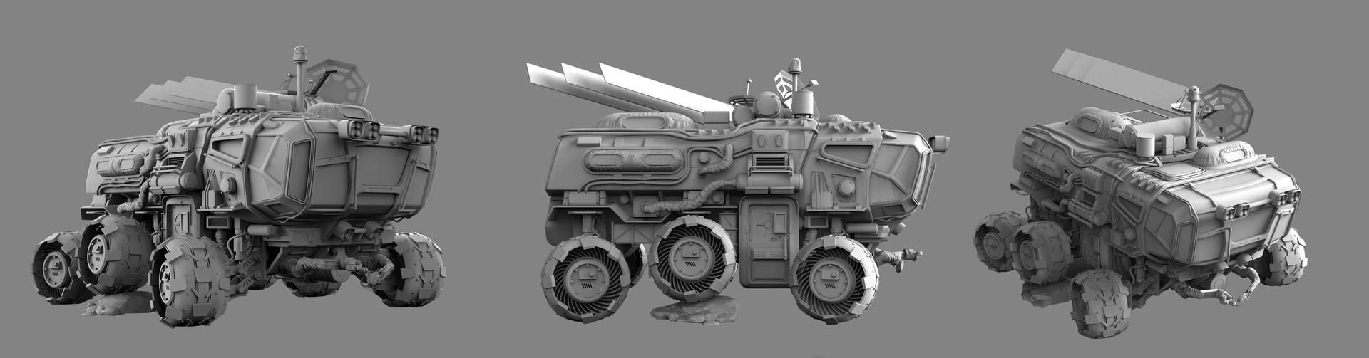 Igor sobolevsky rover white wiews