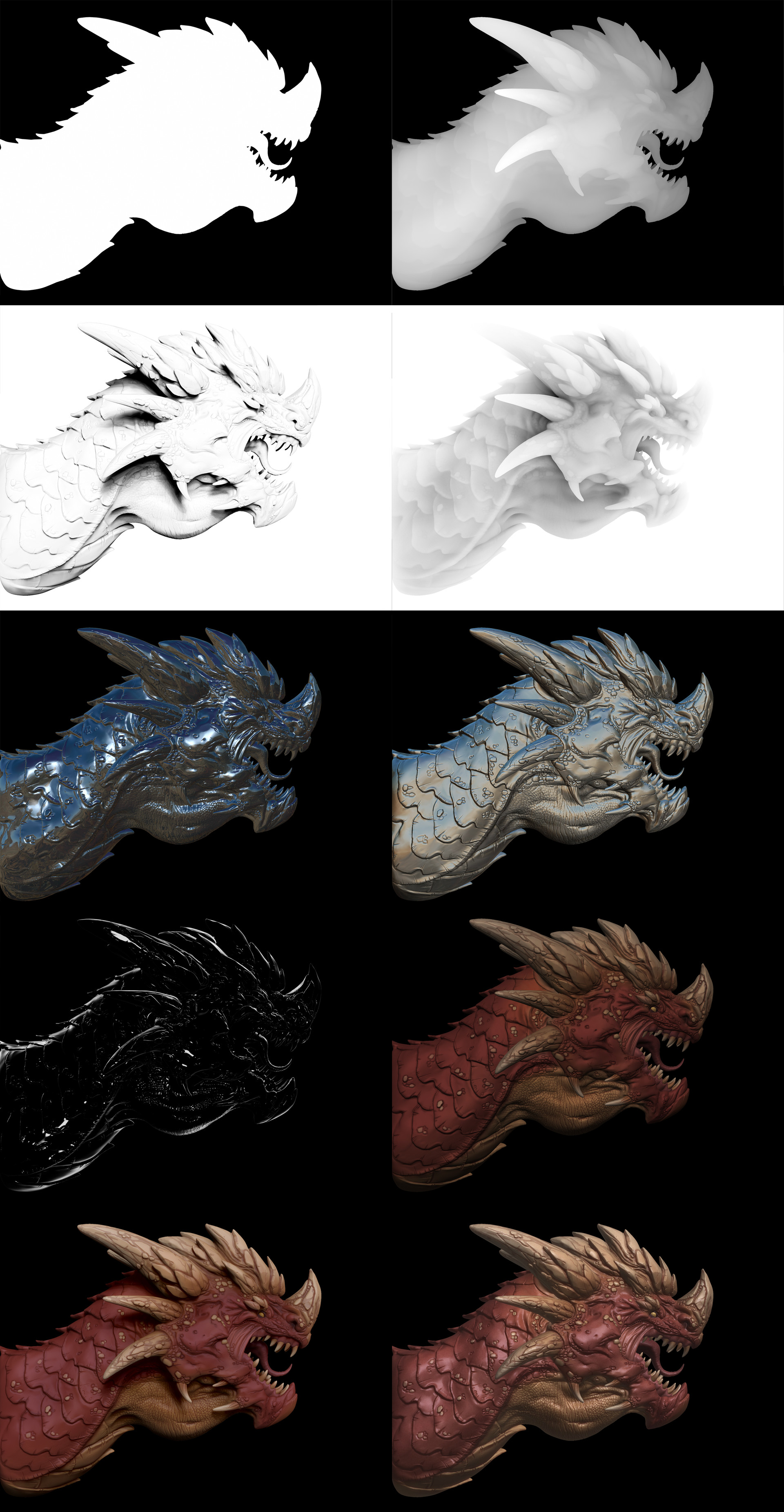 Andy chin dragon renderpasses