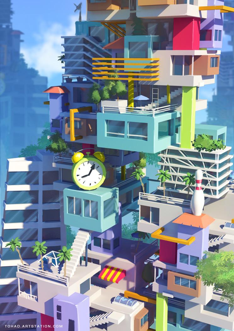 MacDonald/Monopoly concept art