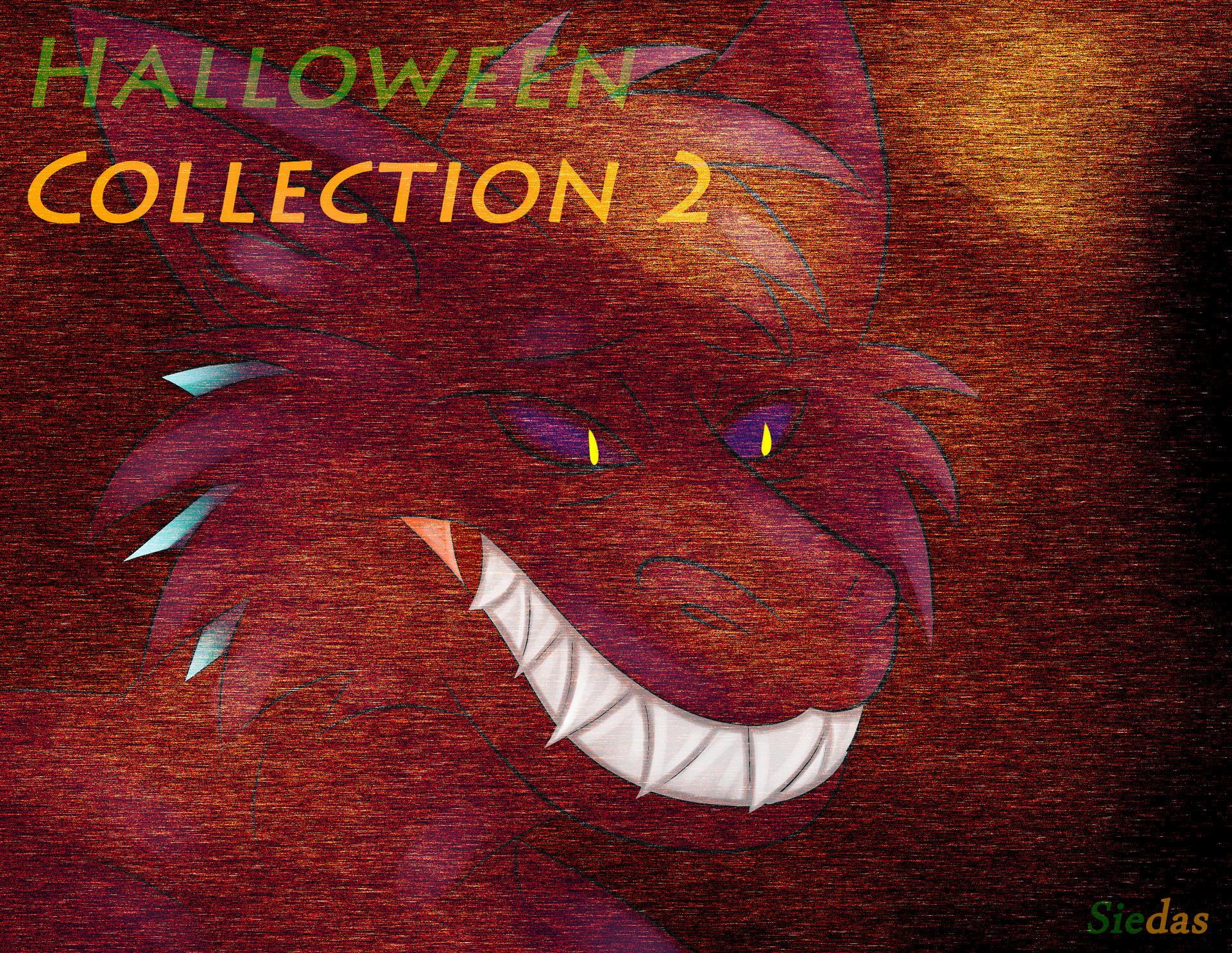 afteel nifty - halloween collection 2 cover art - wonkers