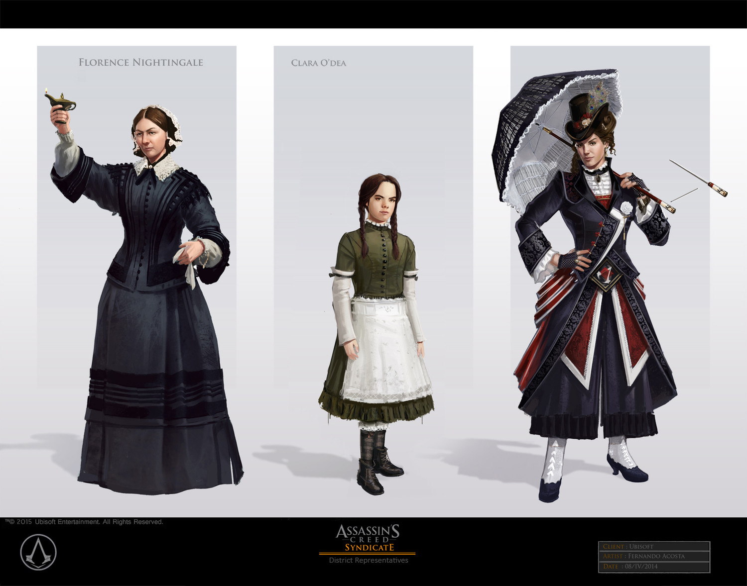 Artstation Assassin S Creed Syndicate Characters Fernando Acosta