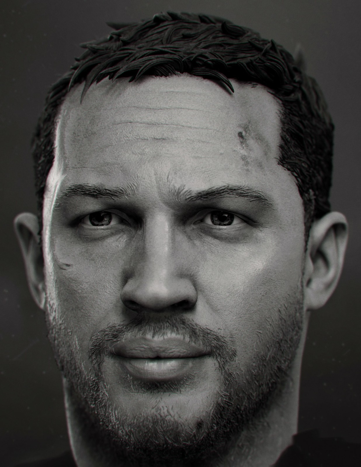 Tom Hardy- 1/6th Head Sculpt