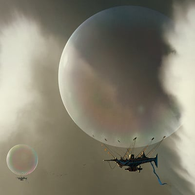Christopher balaskas bubble ship