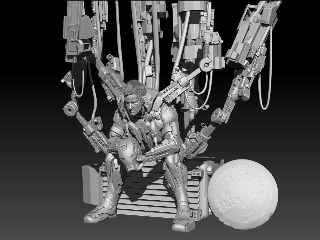 Mars zbrush document