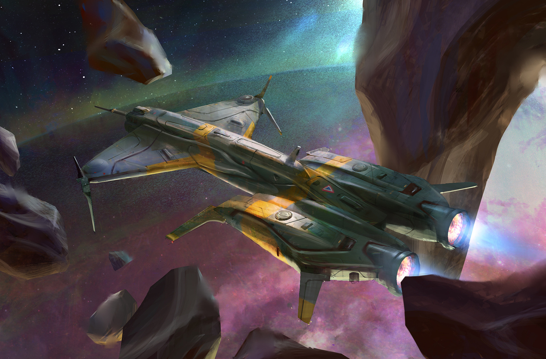 Chen liang spaceship a 04