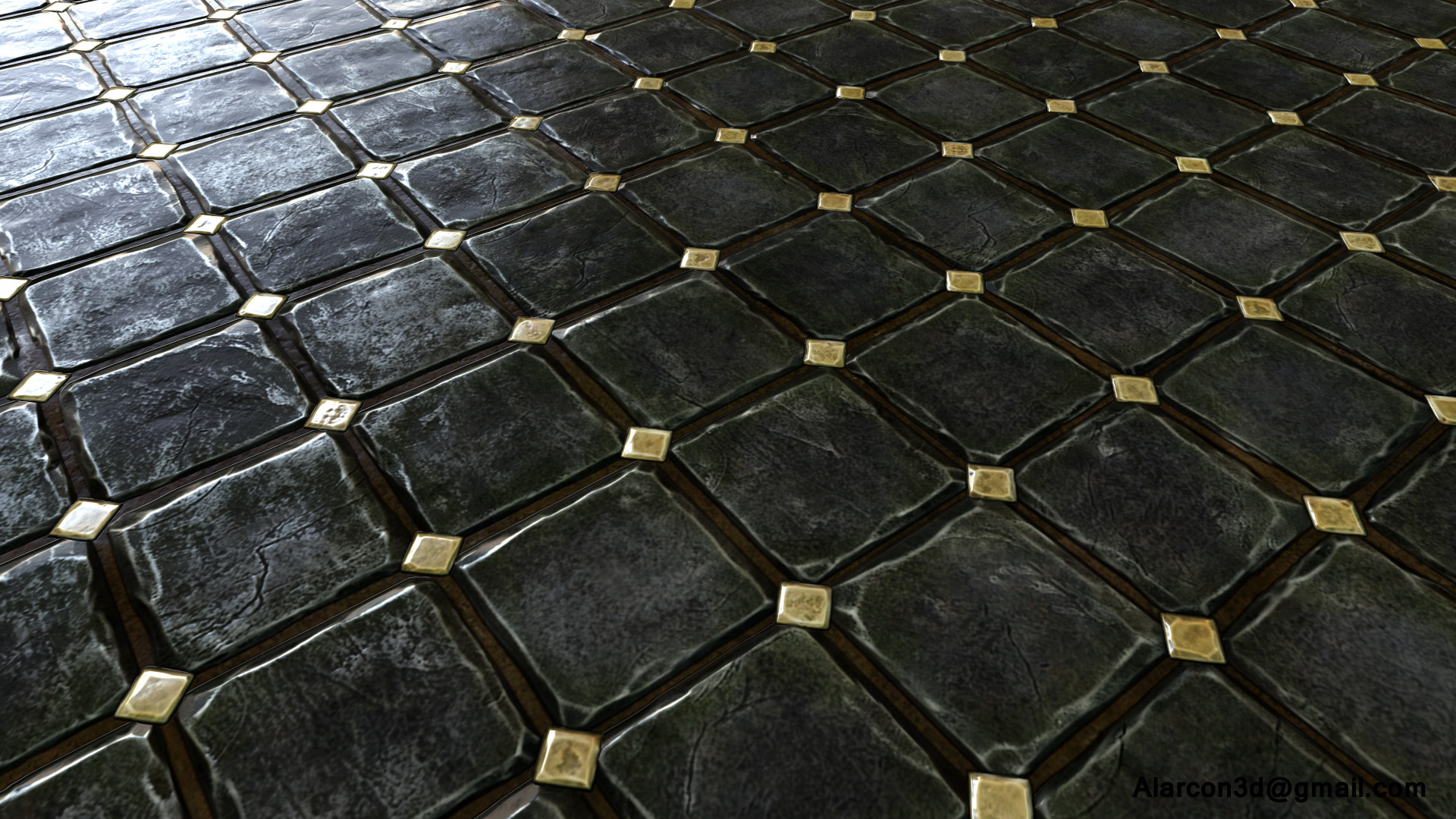 David alarcon dimond floor tile