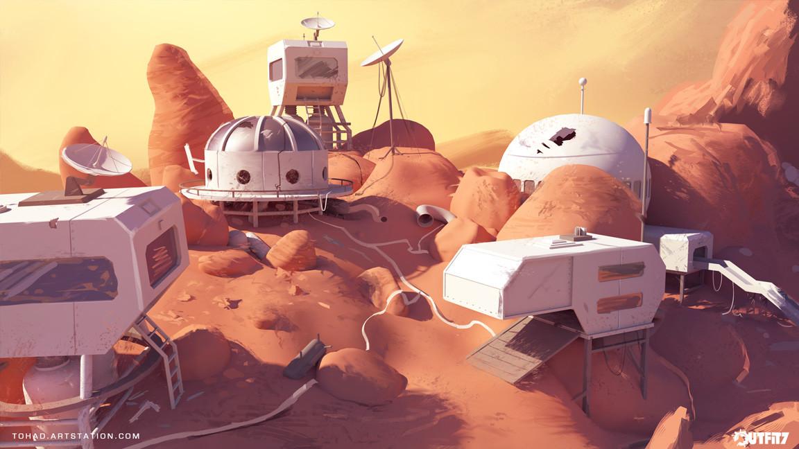 Mars Pop Concept Art