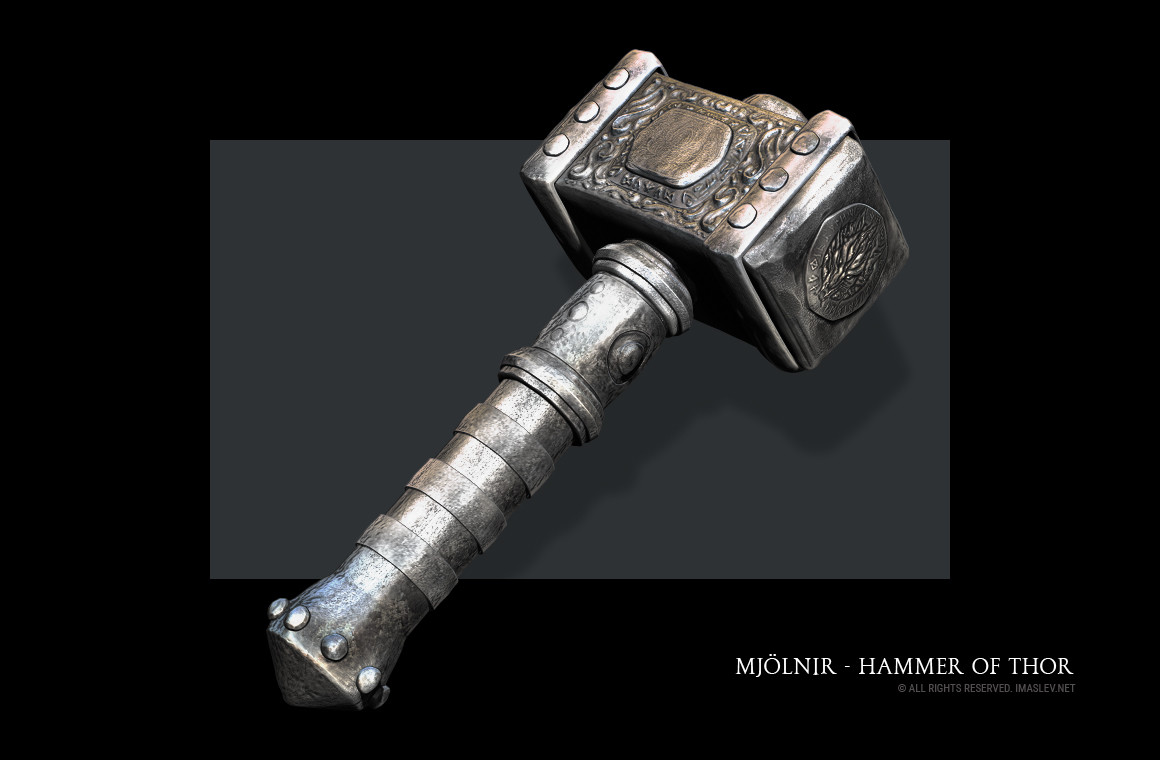 ivan maslev mjölnir hammer of thor
