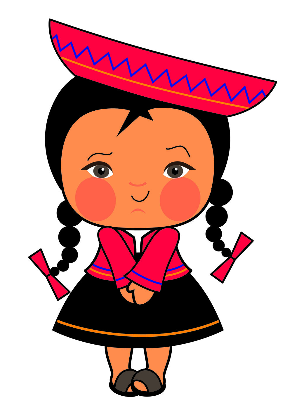 Patricia vasquez de velasco caricatura pucca serranita 04