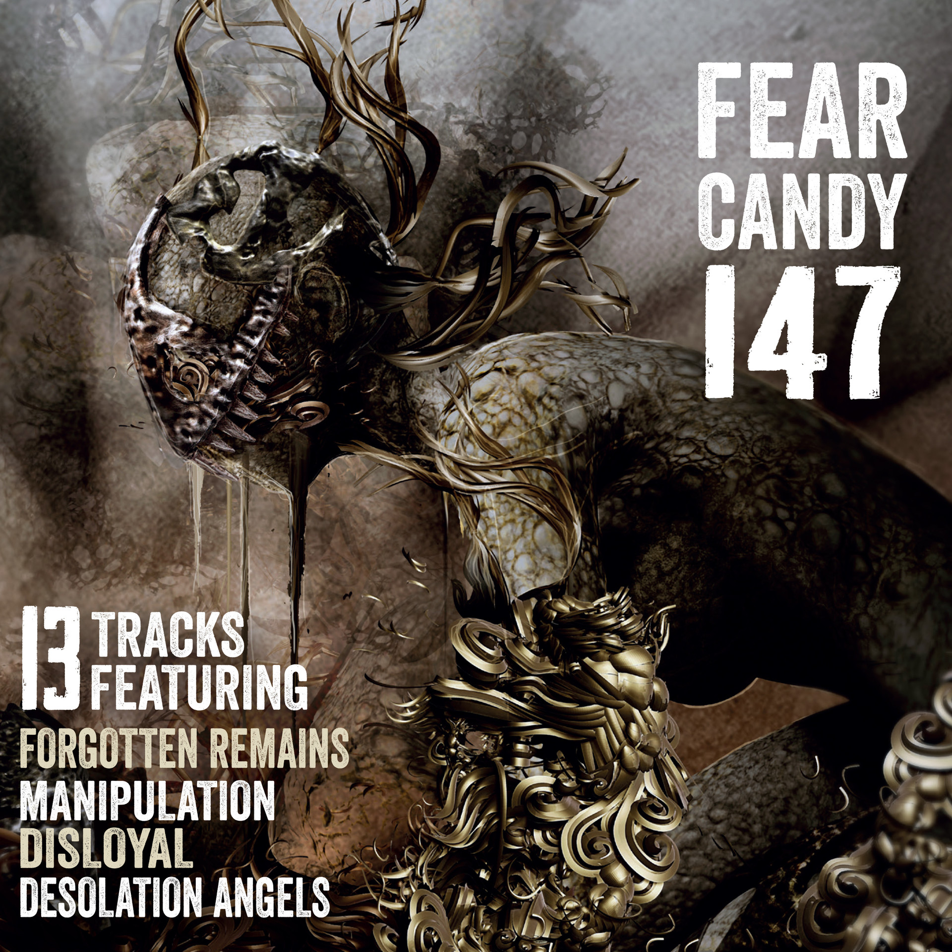 Terrorizer Magazine Fear Candy CD cover