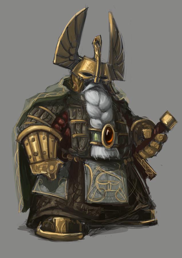 Carlo spagnola dwarf warrior