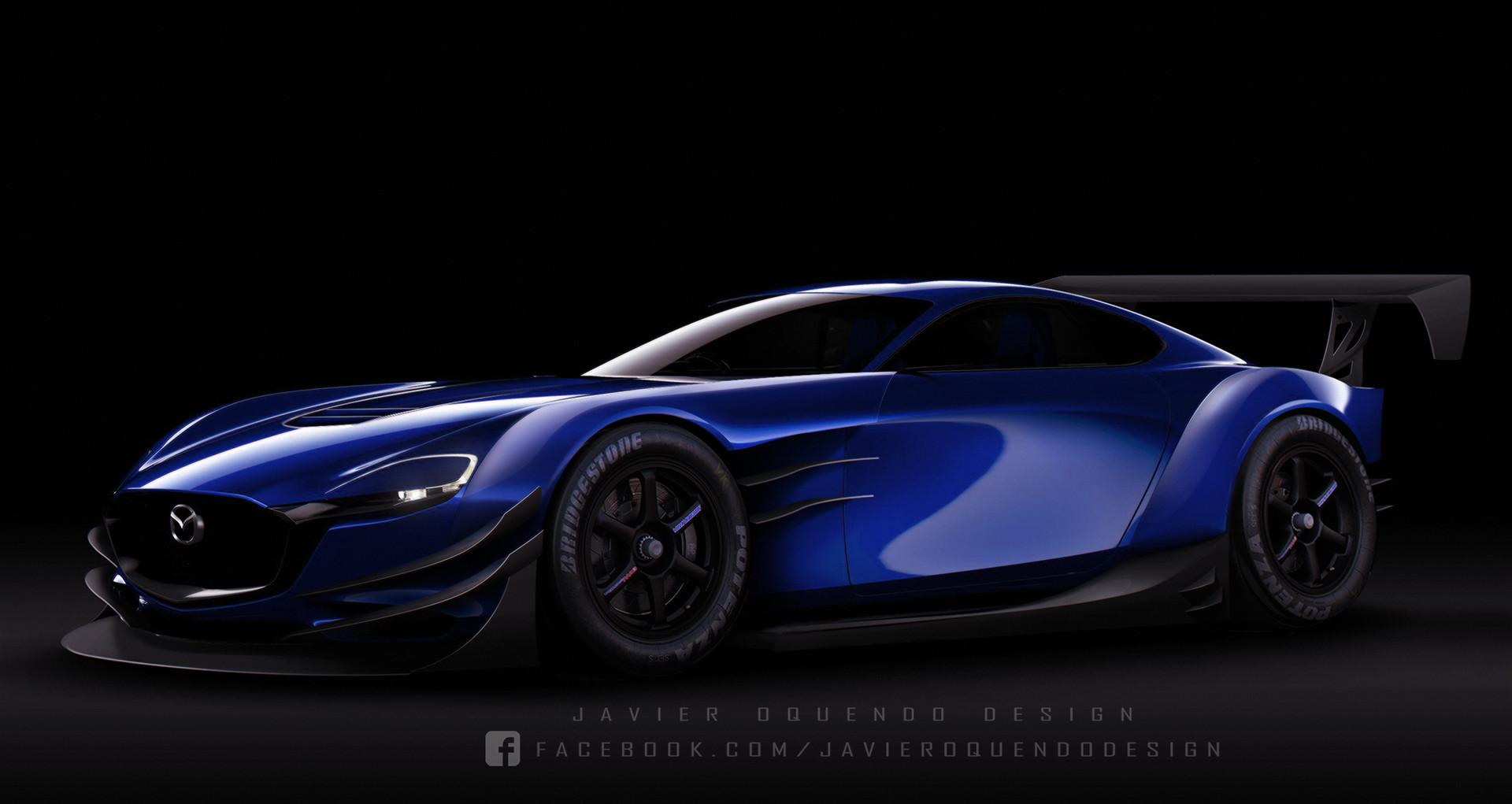 ArtStation - Mazda RX-Vision Concept Super GT Race Car ...