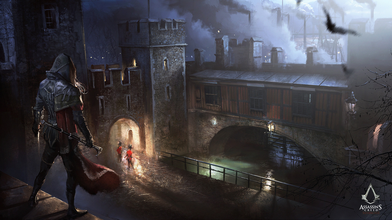 Artstation Assassin S Creed Syndicate Evie And Traitor S Gate Darek Zabrocki