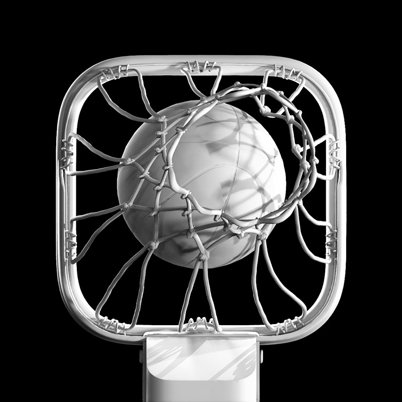 Tomislav zvonaric basketball rim 3d icon solid color model only