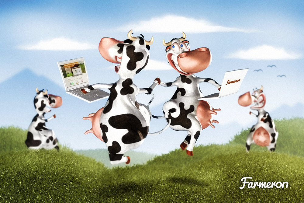 Tomislav zvonaric farmeron happy cows tz deviantom