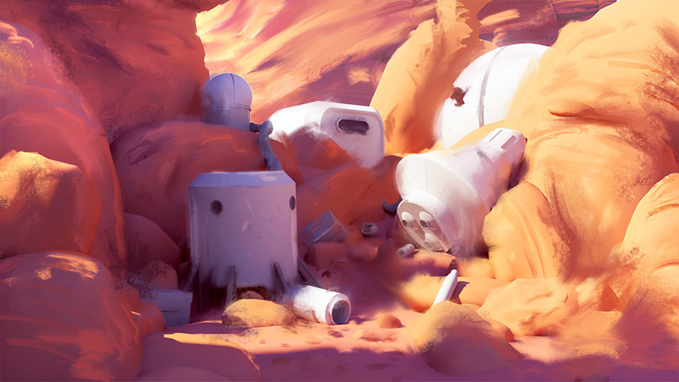 Mars Pop playground
