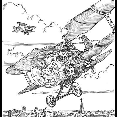 Air Patrol-Inktober #27