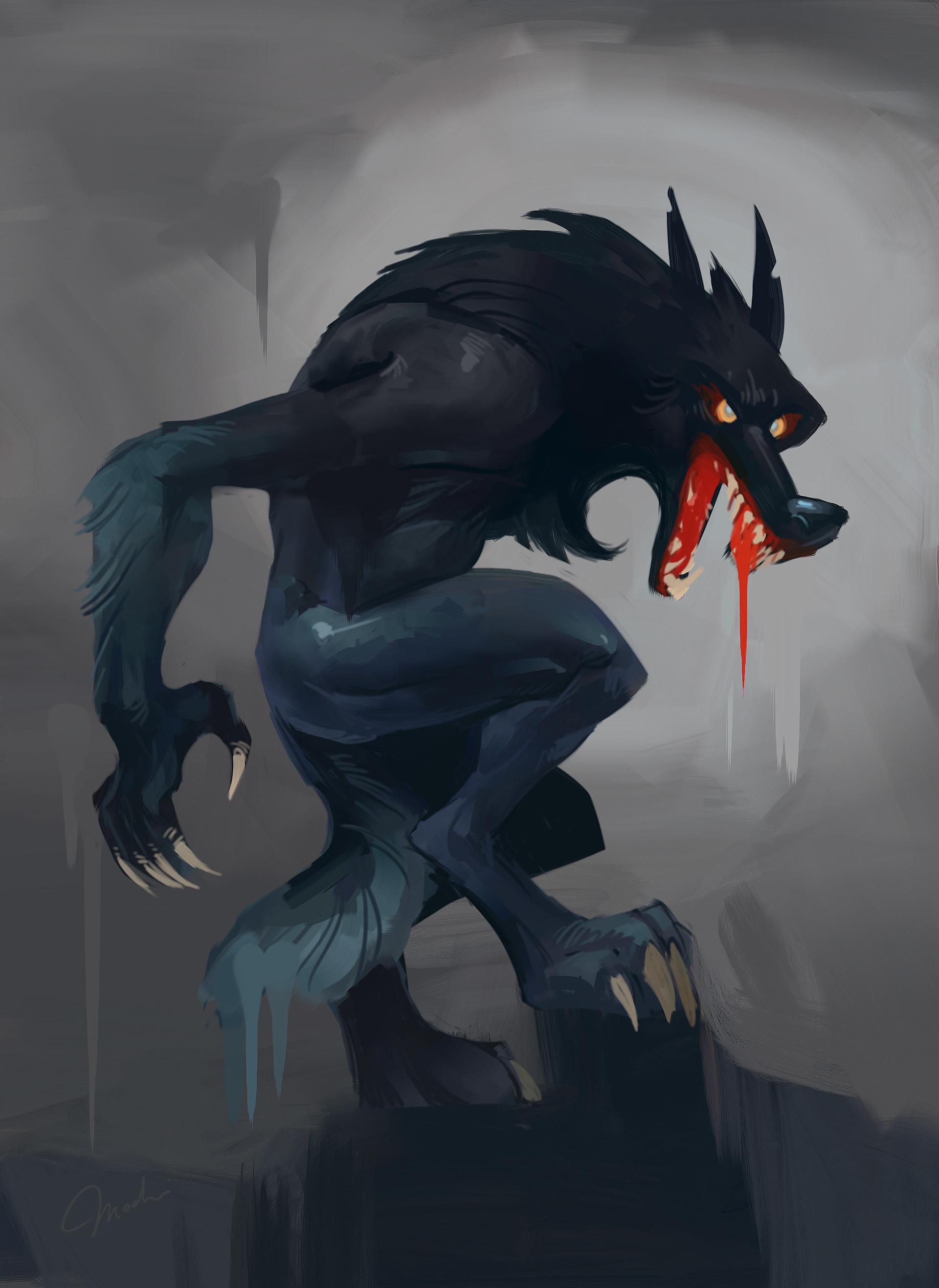 Magda proski behance werewolf