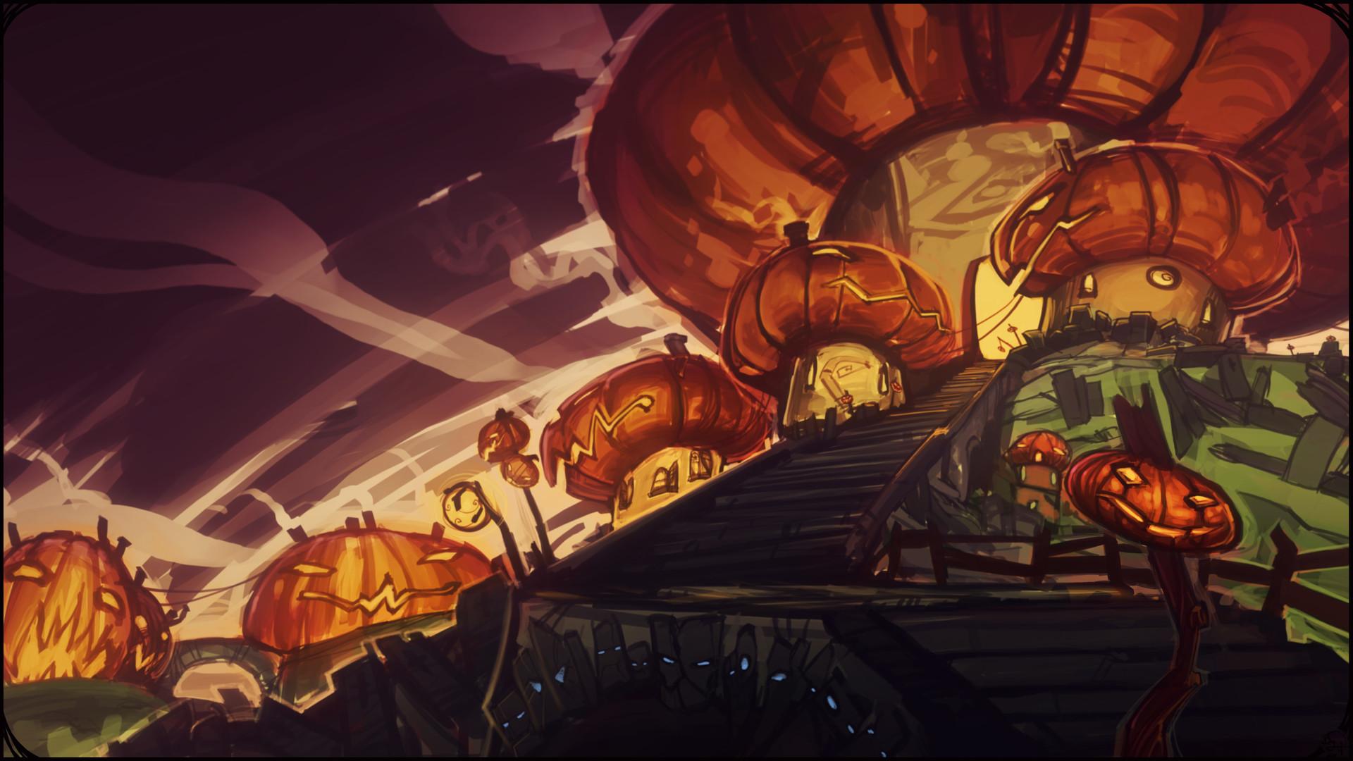 Etienne beschet pumpkin city
