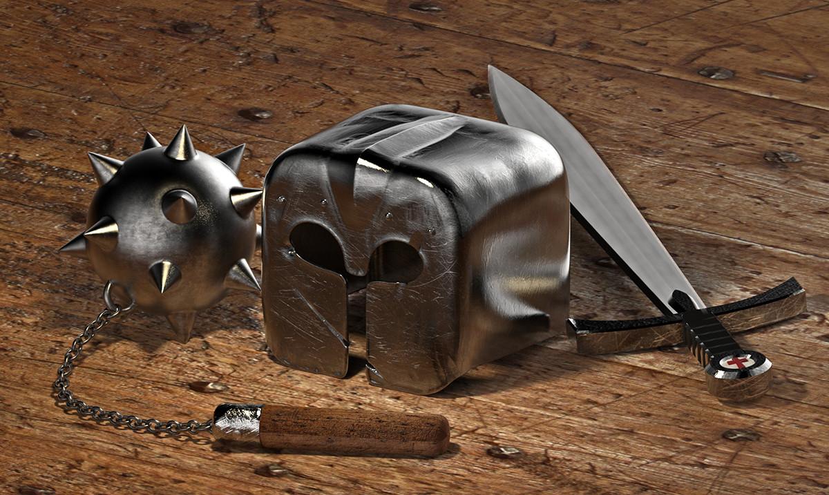 Tomislav zvonaric knight helmet 650