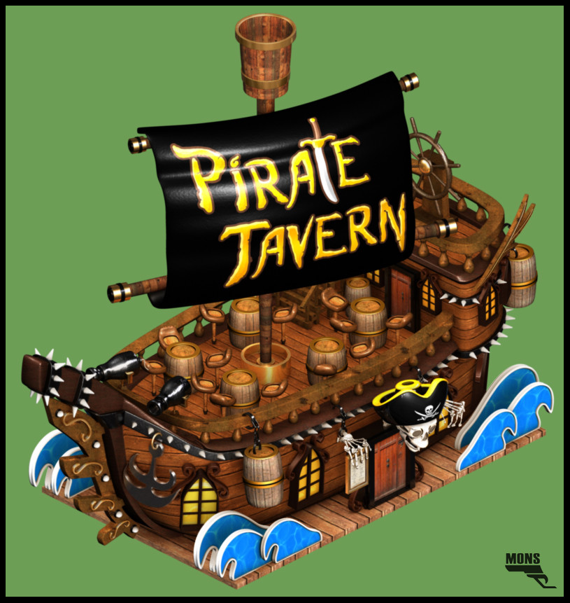 Marc mons pirate tavern