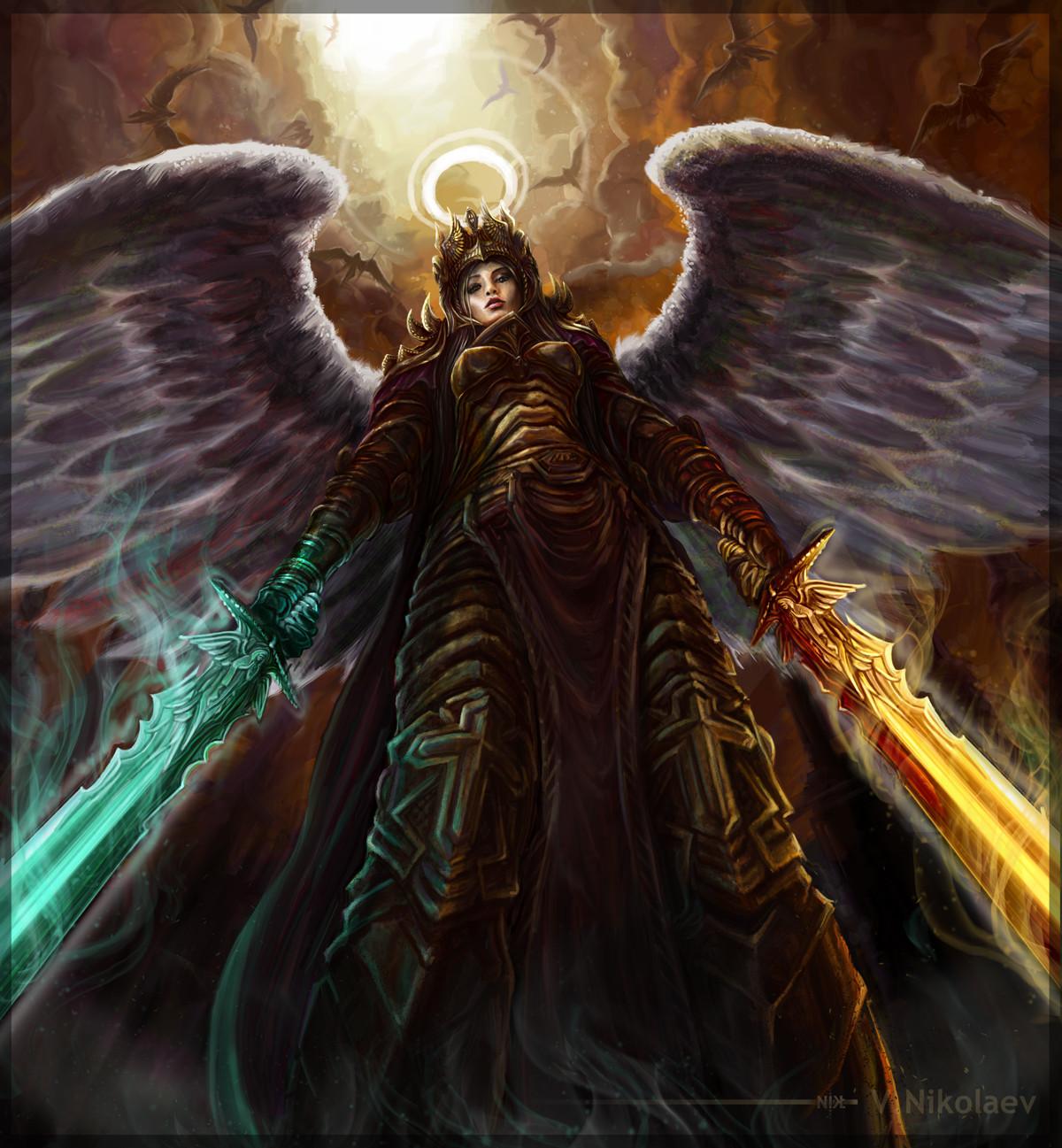 ArtStation - Captan of Angel, Vitaliy Nikolaev