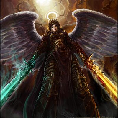 Talion Vitaliy-nikolaev-captain-of-angels-by-nikt