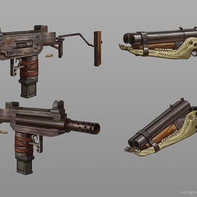 Ben hughes weapon design 01