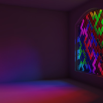 Asbjorn olsen stained glass rgb color