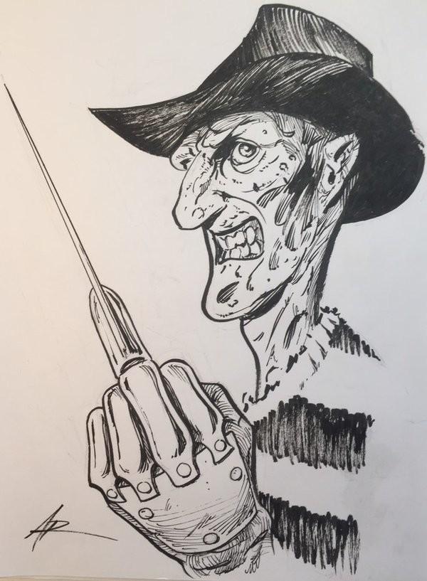Inktober Freddy