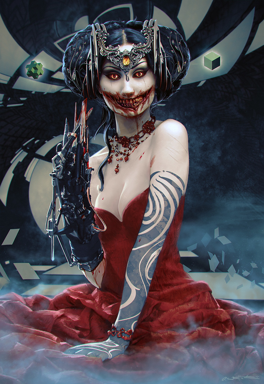Oliver wetter am i beautiful kuchisake onna final small